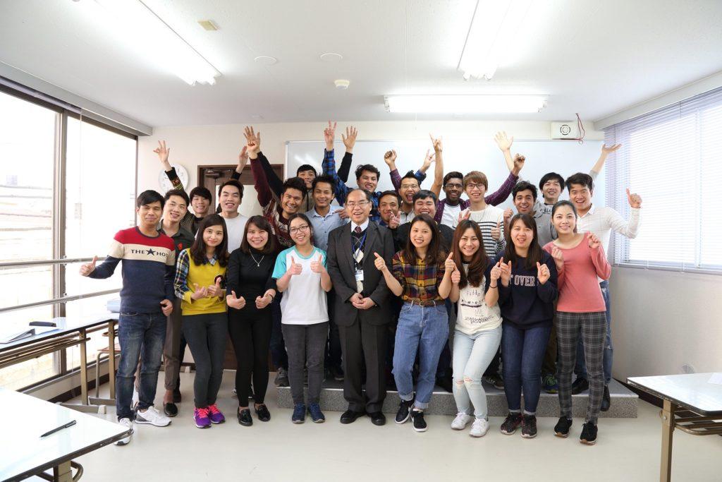 日本で日本語を学ぶ留学生の数